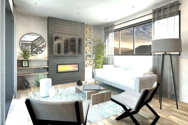 Plan de Maison Moderne Ë_107 Leguë Architecture Home decor - plan de maison moderne 3d