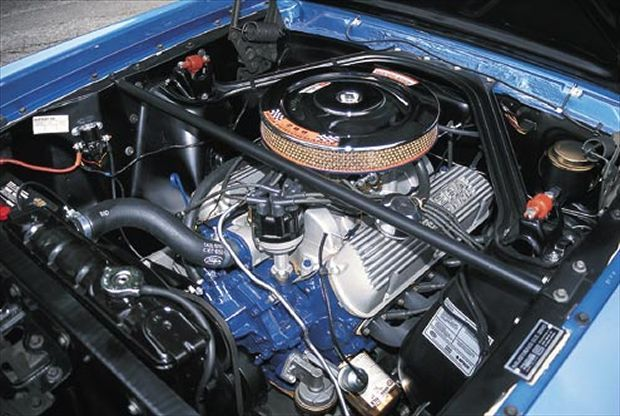 1966 Ford Mustang Shelby Gt350 Engine Bay Ford Mustang 1966 Ford Mustang Ford Mustang Shelby