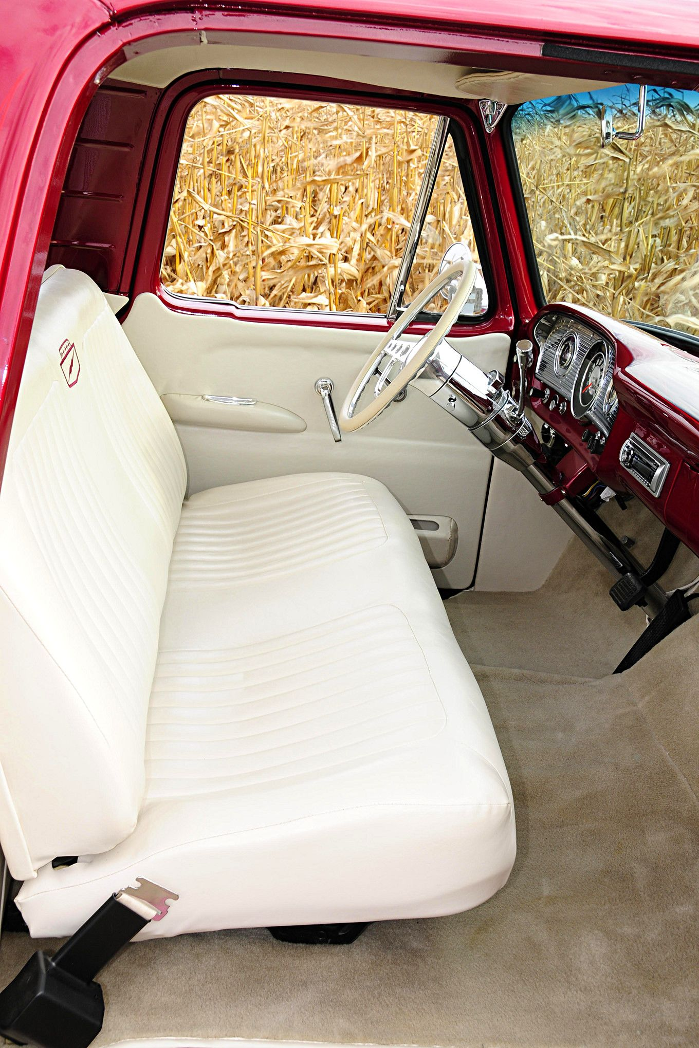 The Wood Family S 1961 Ford Unibody Combines Classic Looks With Hot Rod Style Ford Trucks Classic Ford Trucks Classic Chevy Trucks