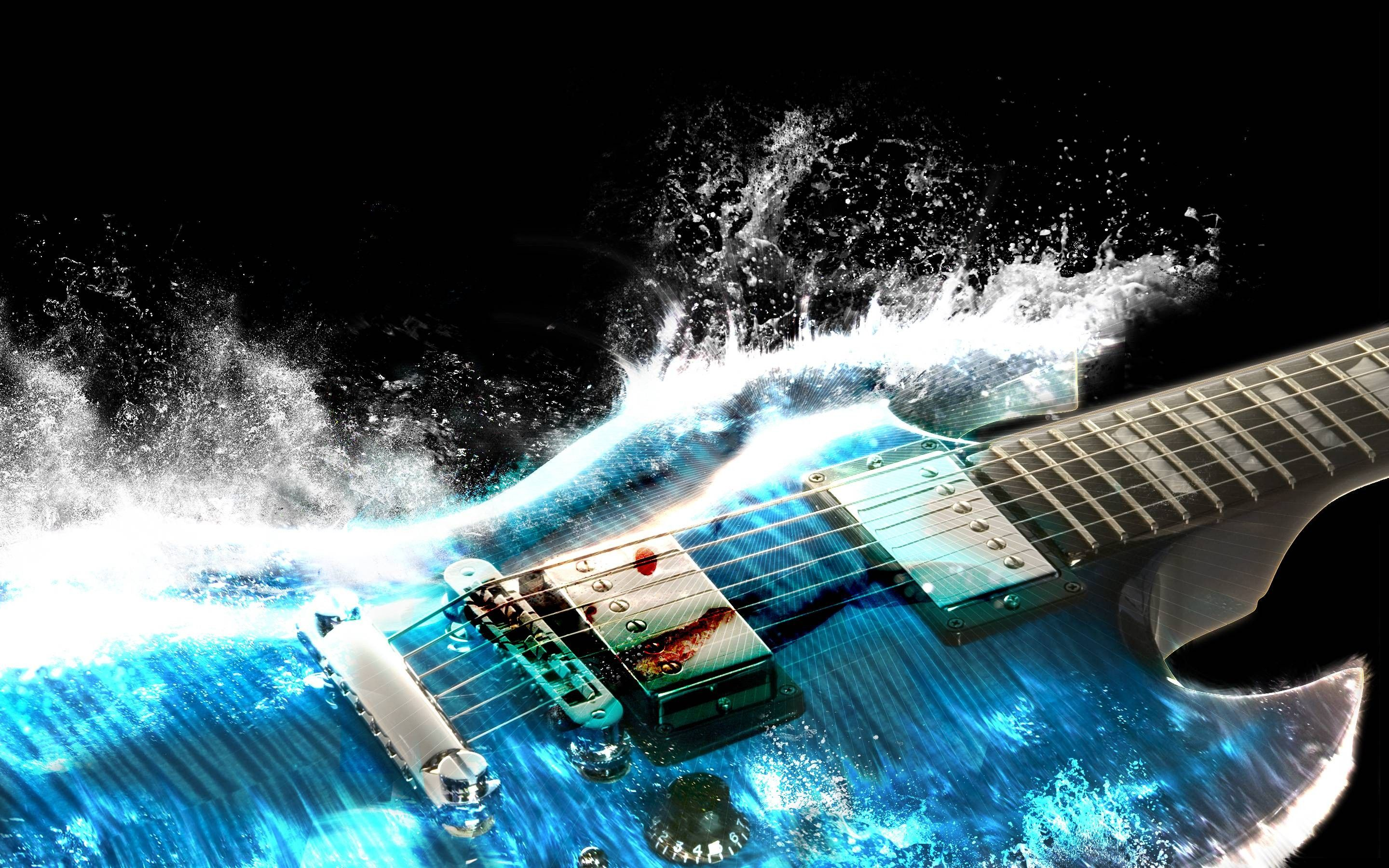 Amazing Music Wallpapers: Amazing Guitar Background 2880x1800 Macbook