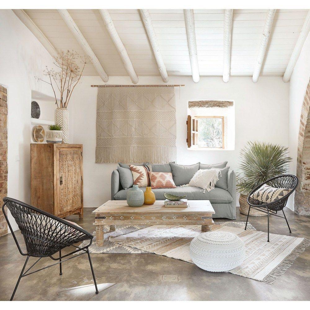Canape Personnalise Maison Du Monde 4 Une Hirondelle Dans Les Tiroirs Decorations Murales Maison Canape Lin Mobilier De Salon