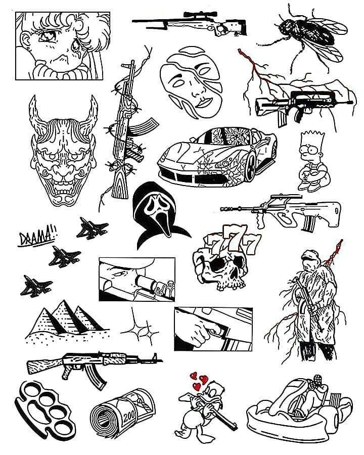 Minimal tattoo ideas I best tattoo sketches ideas I doodle tattoos