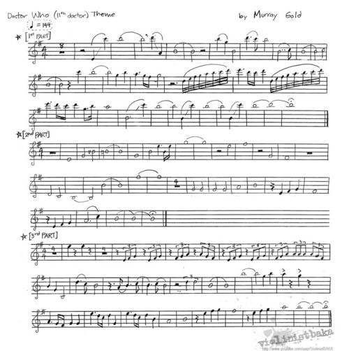 All That Jazz Sheet Music Piano: Doctor Who Theme For Violin. @Elizabeth Rouget Need I Say