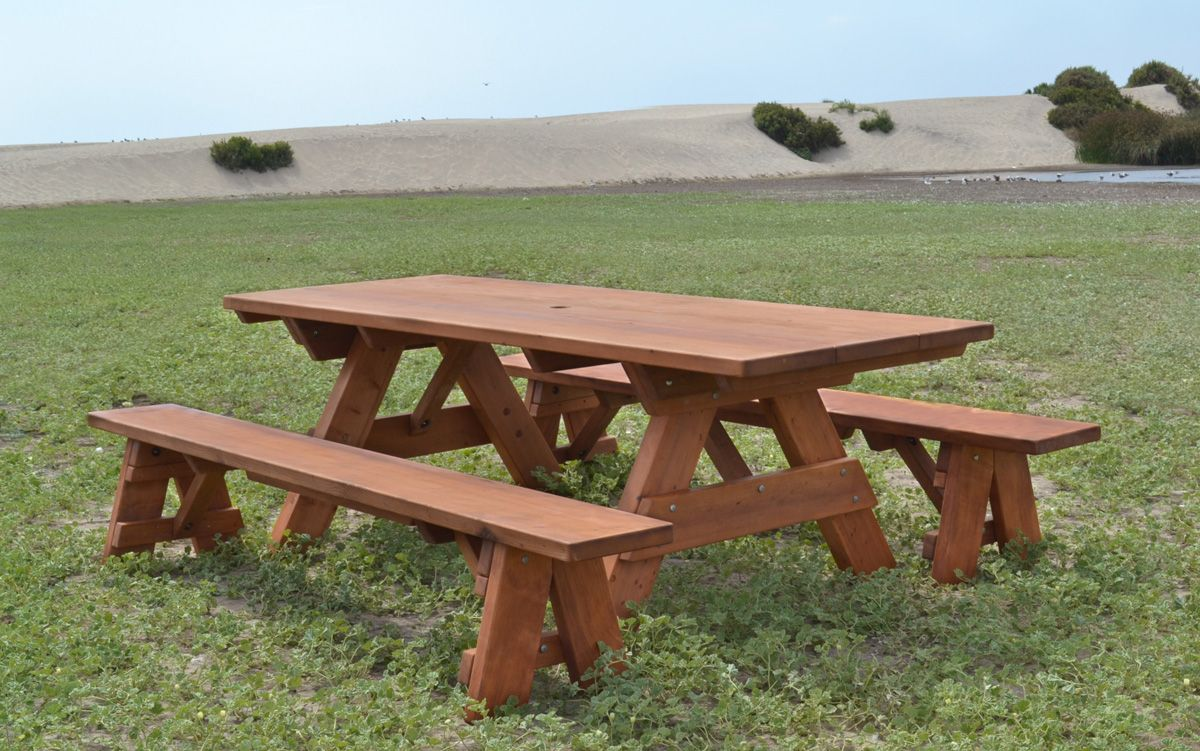Super Heritage Picnic Table Options 8 L 34 1 2 W Side Customarchery Wood Chair Design Ideas Customarcherynet