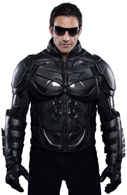 43a4e04c391 Amazon.com: UD Replicas The Dark Knight Rises: Batman Motorcycle Suit Jacket,  X-Large: Toys & Games