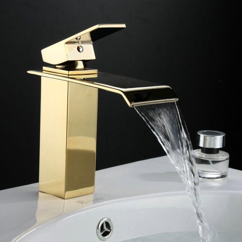 זול Becola מותג עיצוב זהב חדר אמבטיה