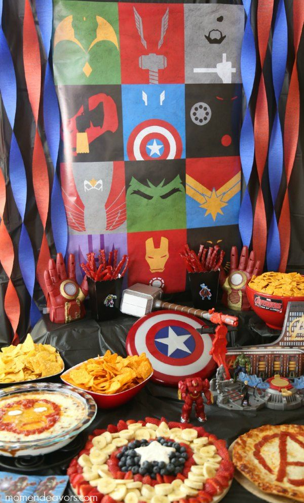 Avengers Party Decor , look for this backdrop poster at