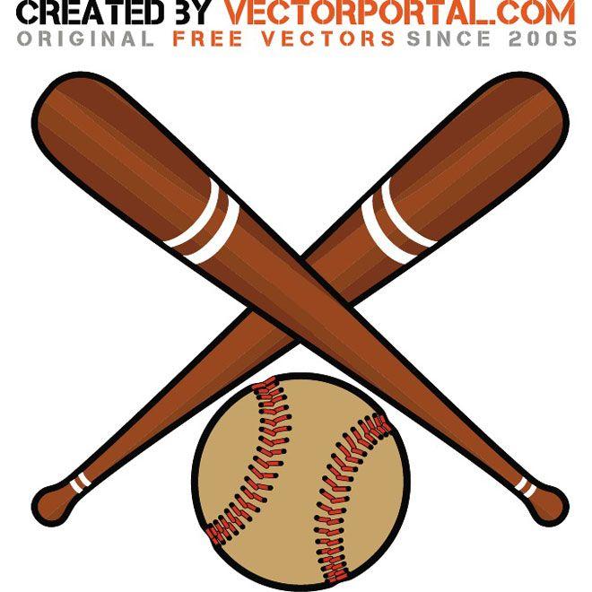 Baseball Bats And Ball Vector Bat Printable Baseball Bat Baseball