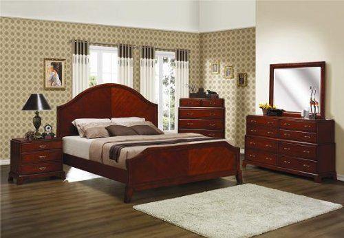 Inland Empire Furniture Evelyn Cognac Solid Wood Unique Tier