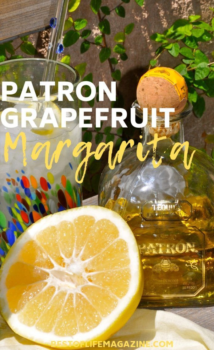 Making a Patron Grapefruit Cocktail is easy! This Patron Grapefruit Margarita recipe is simple, delicious, and perfectly refreshing. Everyone will love it! Margarita Recipes | Patron Cocktail Recipes | Happy Hour Recipes | Grapefruit Recipes | Cocktail Recipes | How to Make a Margarita #margarita #patron #grapefruitcocktail Making a Patron Grapefruit Cocktail is easy! This Patron Grapefruit Margarita recipe is simple, delicious, and perfectly refreshing. Everyone will love it! Margarita Recipes #frozenmargaritarecipes