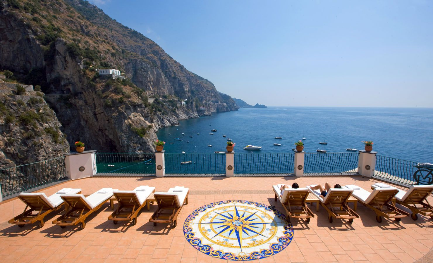 Amalfi Coast Hotels Hotel Onda Verde Between And Positano