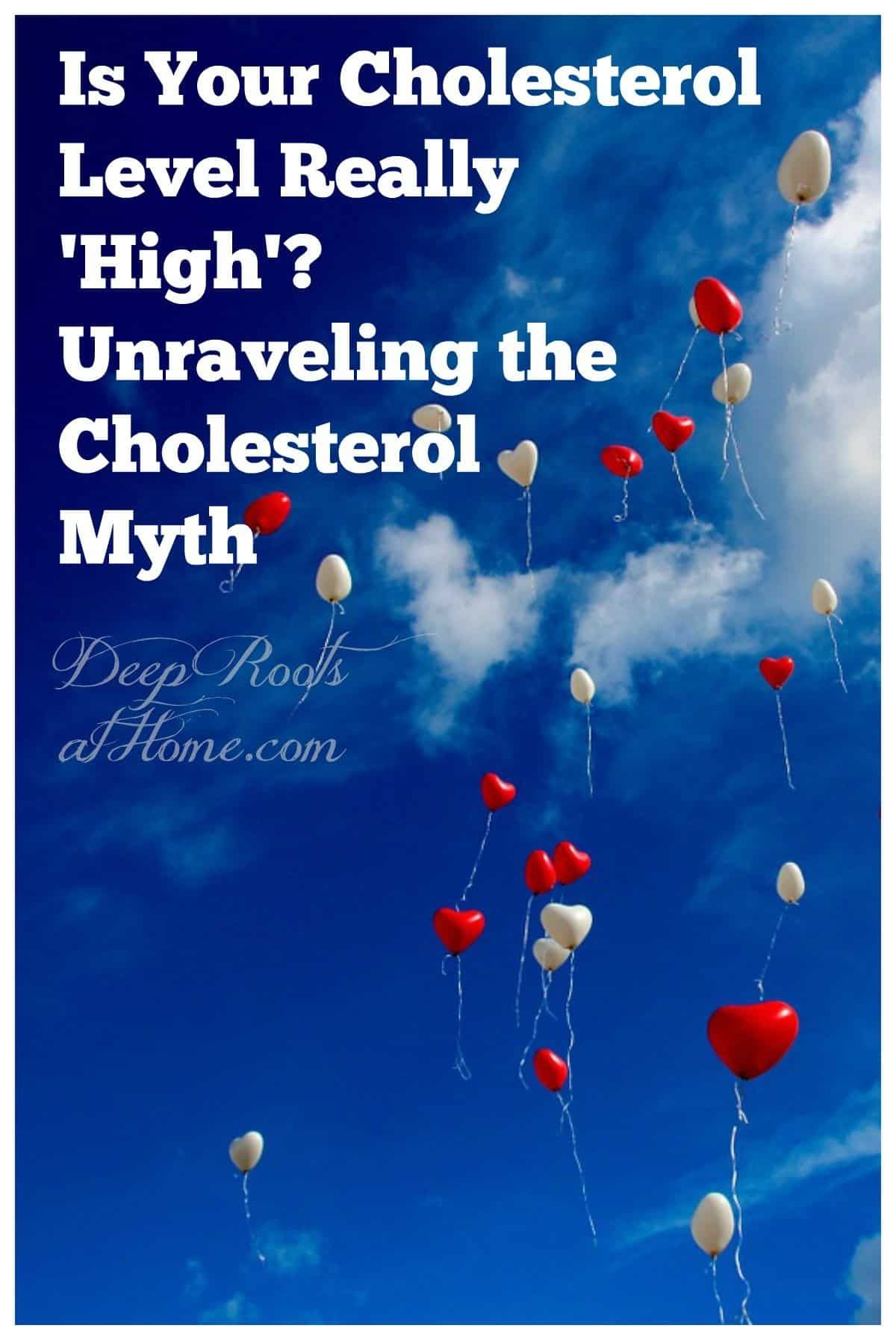 Is Your Cholesterol Level Really 'High'? Dissembling the Cholesterol Myth. #healthy #lifestyle #life...
