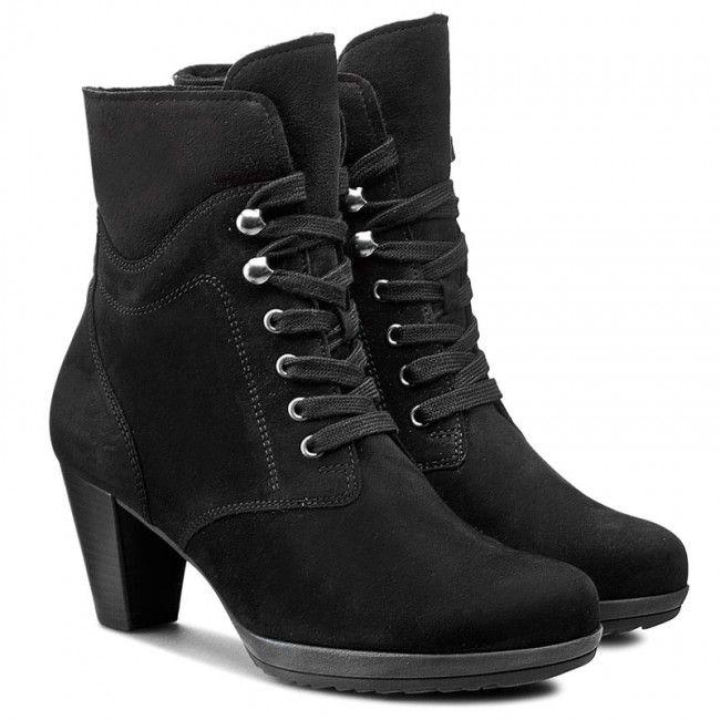 Magasított cipő GABOR - 95.794.17 Fekete  9ac25aaf9b