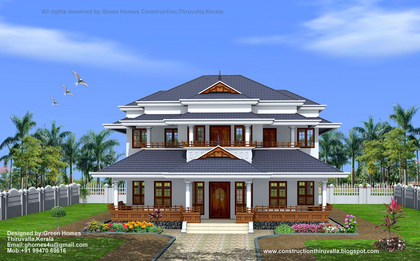 Perfect Sq Feet Traditional Style Home Designed Green Homes Thiruvalla India Style  House Designs Kerala Home Design Floor Plans