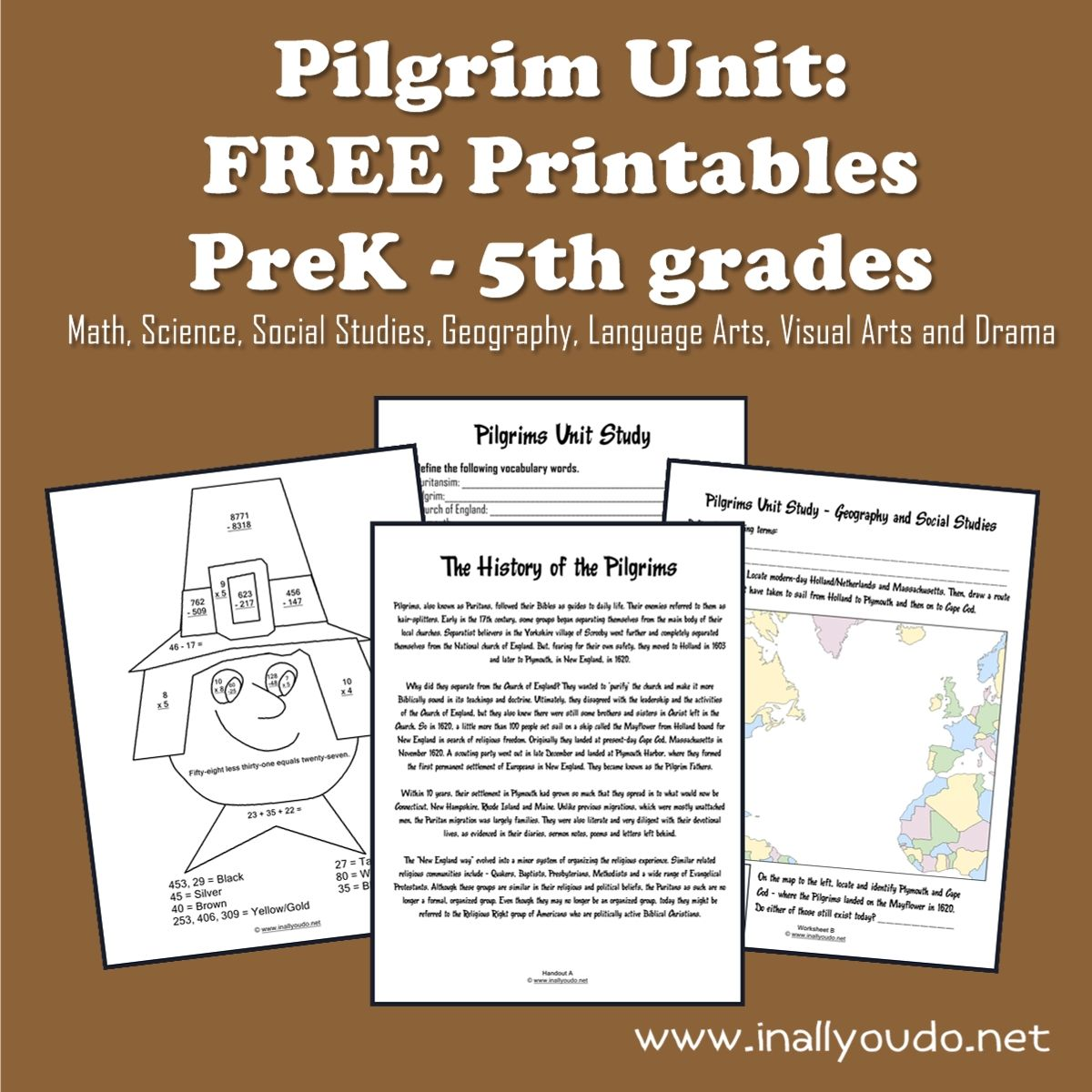 Pilgrim Unit Study