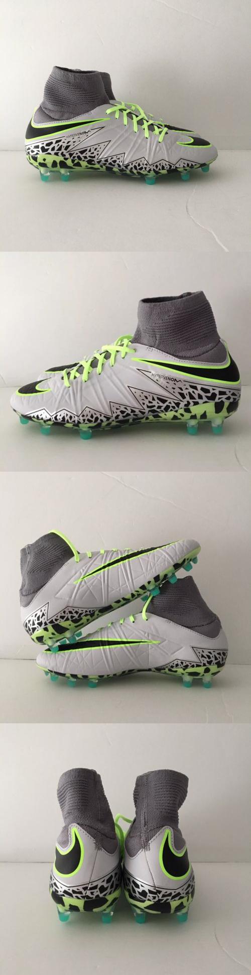 f8a1c201e41b ... authentic youth 159177 nike hypervenom phantom ii fg soccer cleats pure  platinum black ghost green 54301