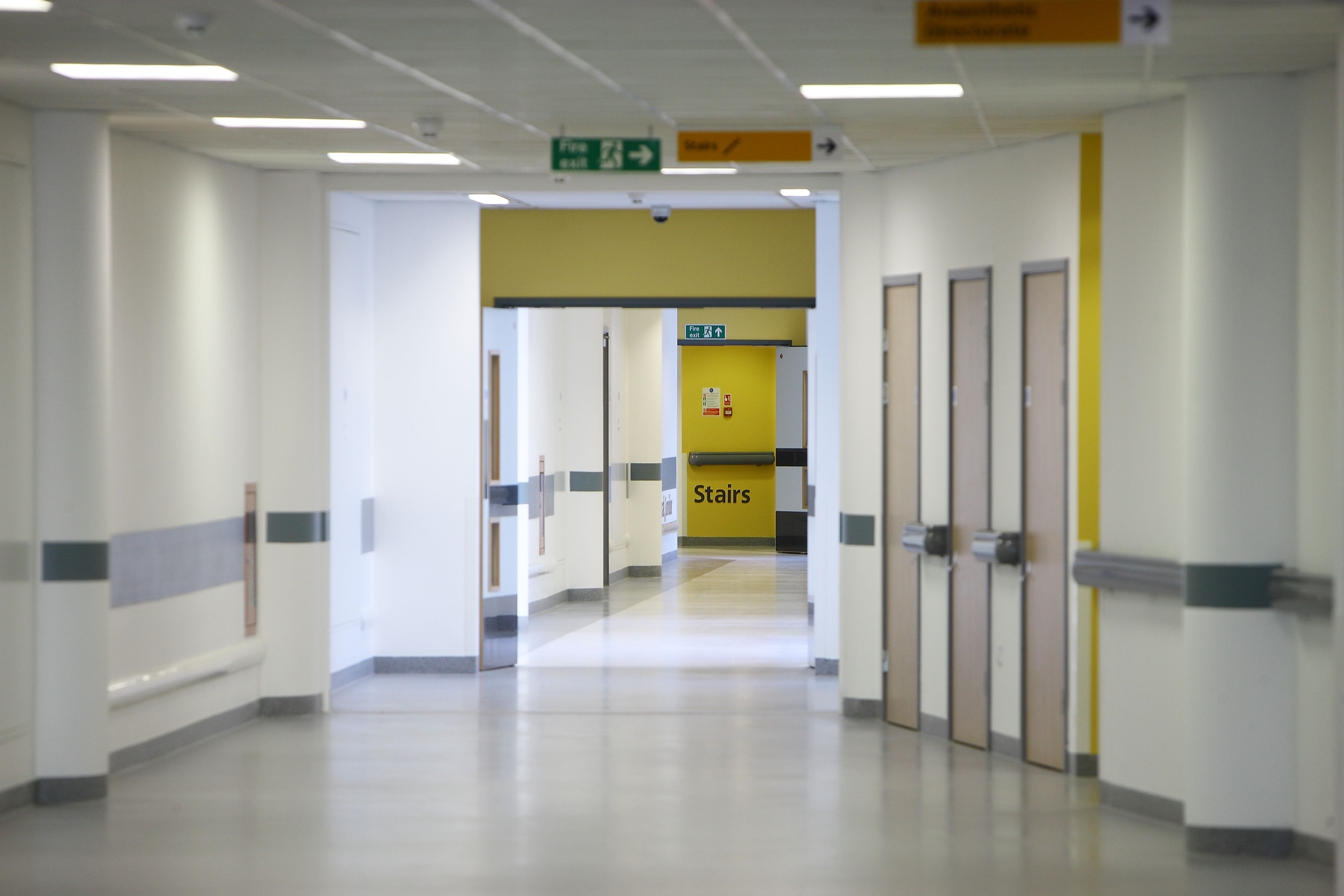 Internal Images Of The New Whiston Hospital Locker Storage