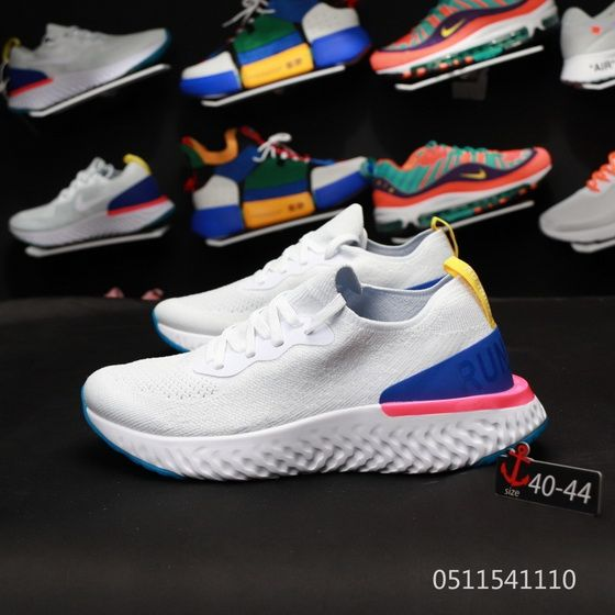 the latest 49bd9 95902 Nike Epic React Flyknit Aq0067 101 White Real Shoe   http://www ...