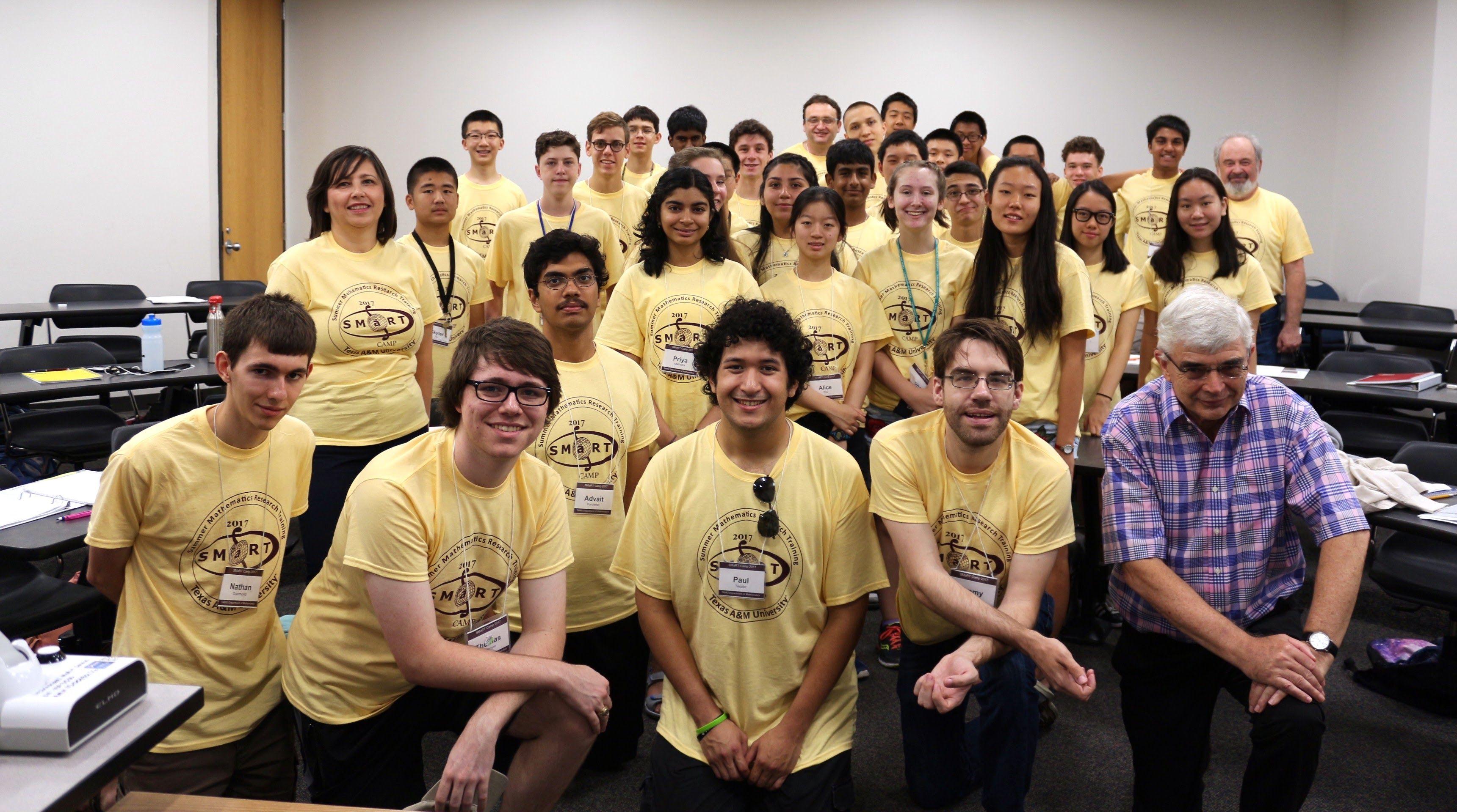 Texas A M Smart Camp Math Summer Program Texas A M University Texas A M