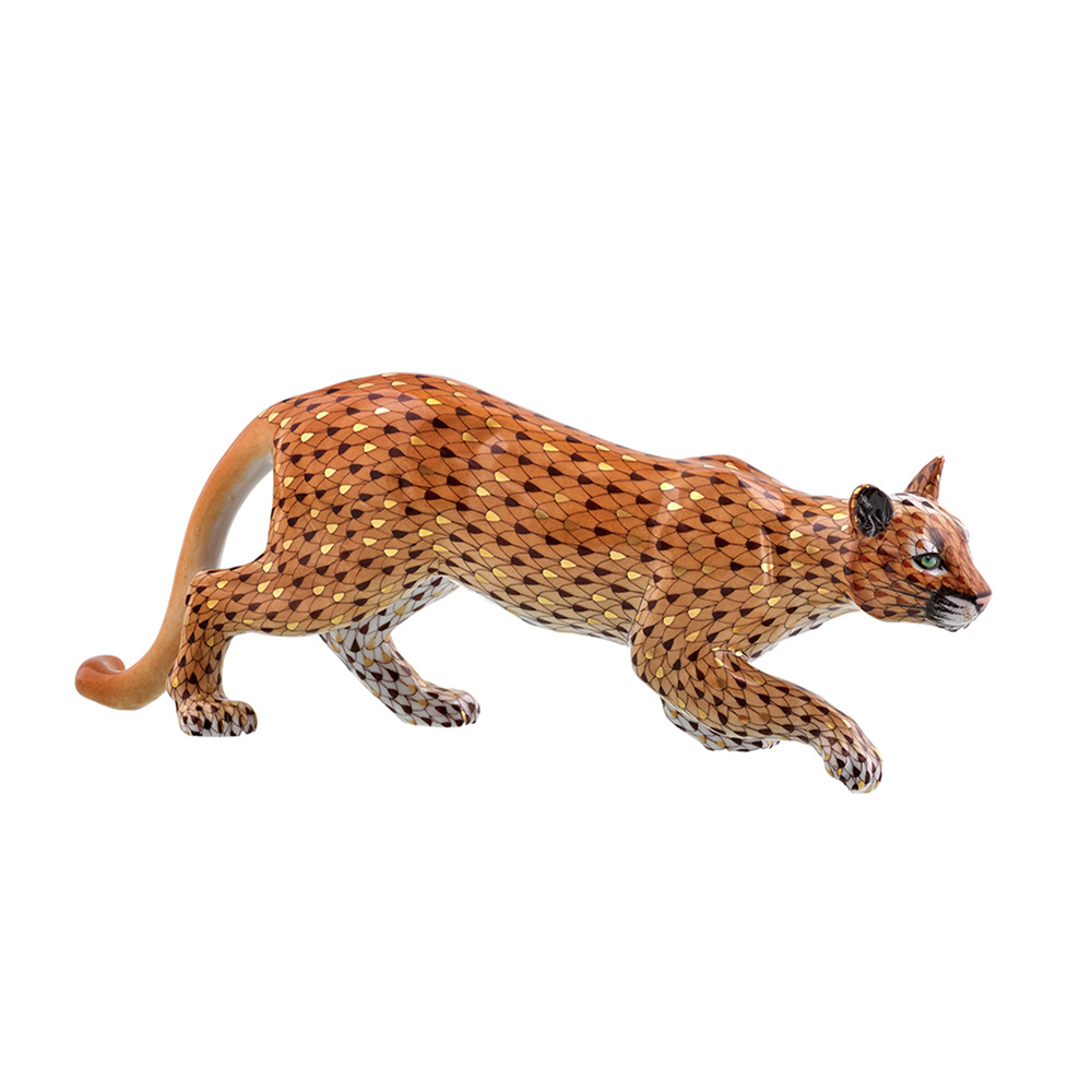 Herend Reserve Mountain Lion Mountain Lion Herend Figurines Lions Live
