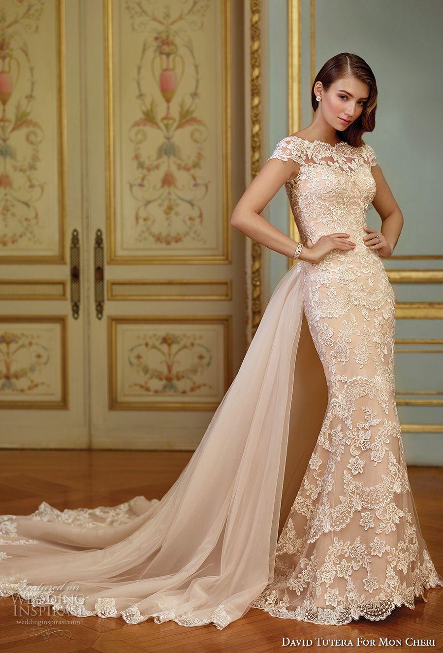 7f1359c7e53b ... neckline full embellishment lace elegant fit and flare sheah wedding  dress keyhole back detachable royal train sweep train (117291) mv #wedding # bridal ...