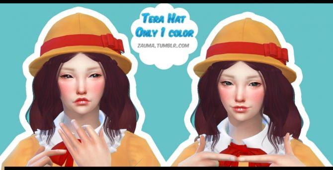 Eyes, blushes, lipsticks, 2 backpacks, hat  1 head acc at Zauma • Sims 4 Updates