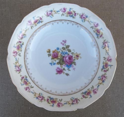 Gold Castle Rose China Made In Occupied Japan P A T Beautiful