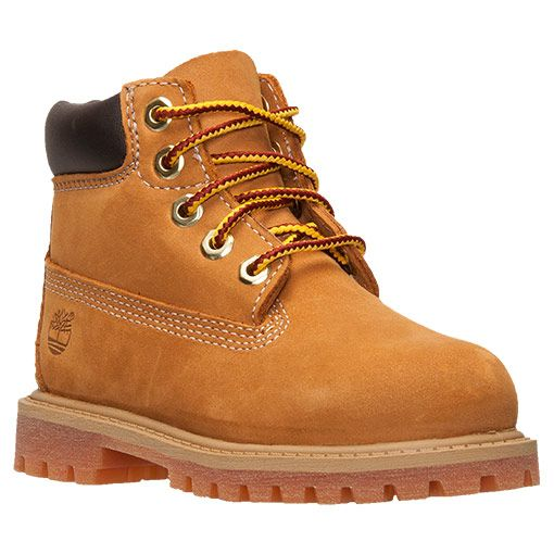 "Timberland Kids 6/"" Premium Waterproof Wheat Boot Core Toddler Little Kid 12809"
