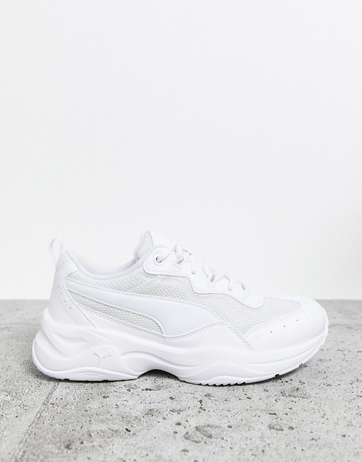 Puma Cilia Chunky Trainers in White