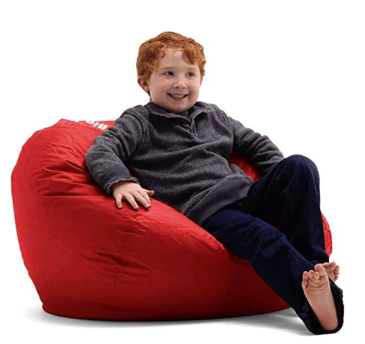 Pleasing Big Joe Red Bean Bag Chair Toys For Kids Inflatable Uwap Interior Chair Design Uwaporg