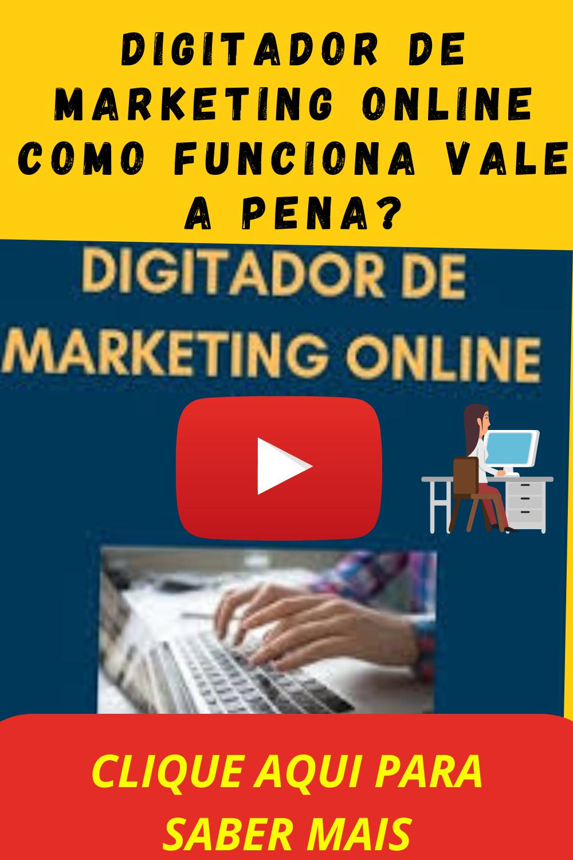 digitador de marketing online home office
