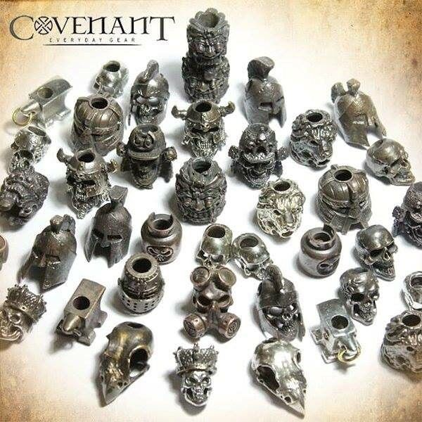 Covenant Gear lanyard beads now available