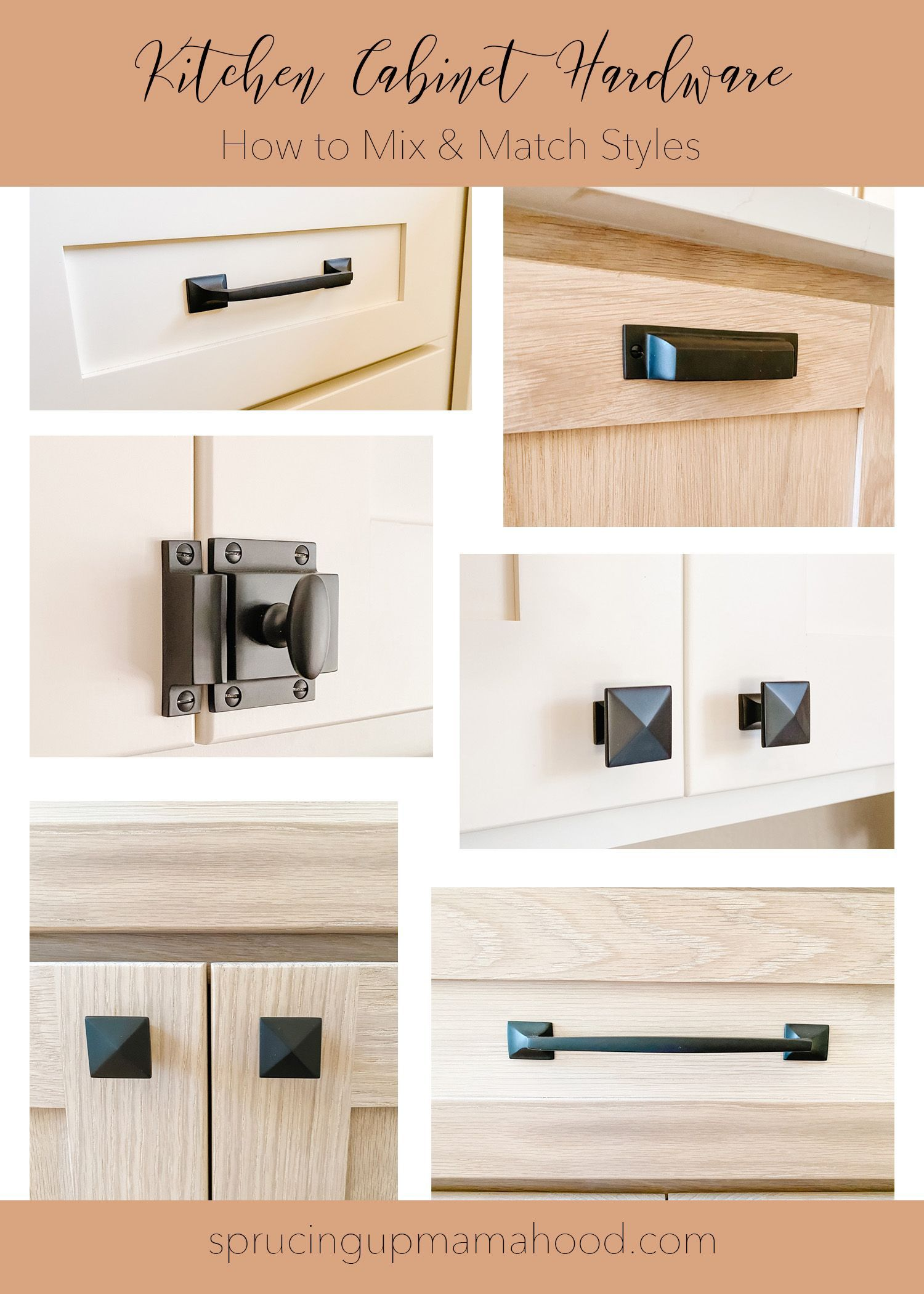 Our Kitchen Cabinet Hardware How To Mix Match Styles Sprucing Up Mamahood In 2020 Kitchen Cabinet Hardware Cabinet Hardware Types Of Kitchen Cabinets