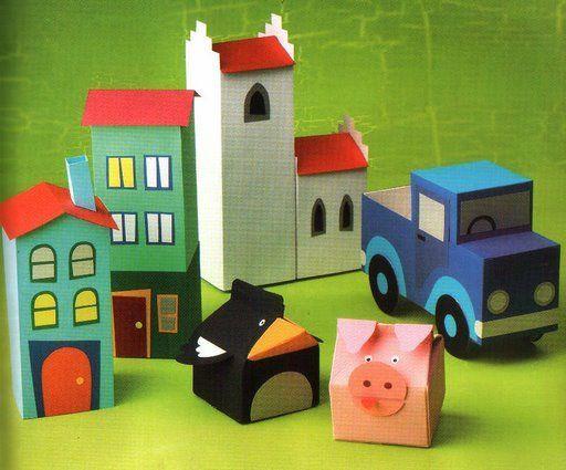 Pl stica construcci n de edificios con material reciclado - Material de construccion ...