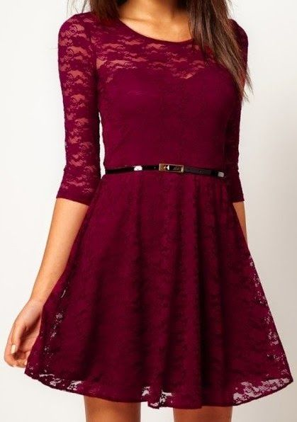 Sexy Lace Hollow Slim Casual Skirt  Party Dress