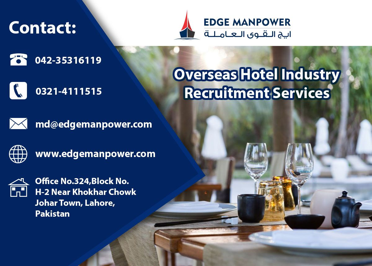 Overseas Hotel Industry Recruitment Services in 2020