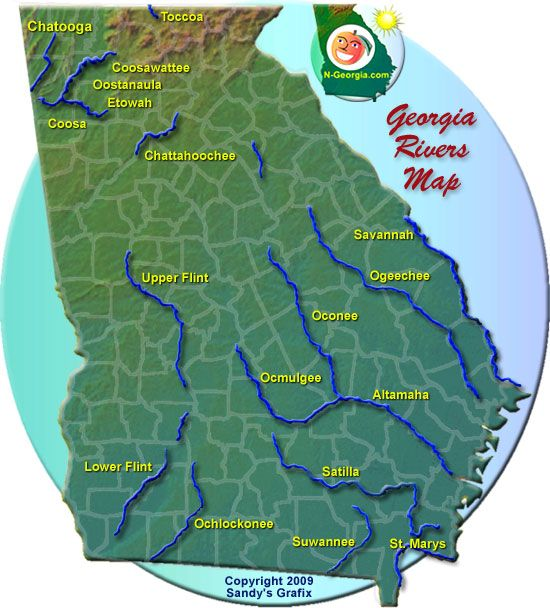 GA Rivers Nd Grade SS Pinterest Rivers Social Studies And - Georgia map activity tier 2