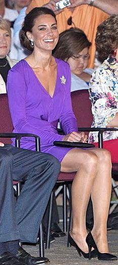 Kate Middleton Wearing Pantyhose With Red - Kate Middleton