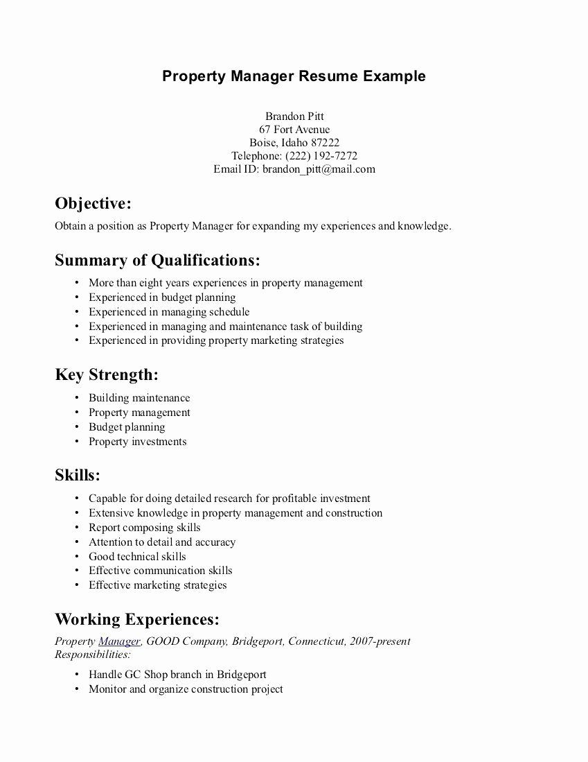 Strong Communication Skills Resume Printable Resume Template Resume Summary Examples Resume Skills Resume Objective Examples