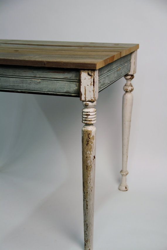 Amazing RESERVED New Orleans Reclaimed Wood Table   Eco Friendly Furniture