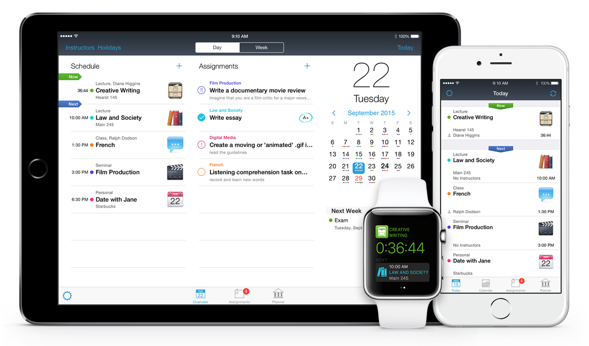 iStudiez Pro for iOS Best App for Students Educational