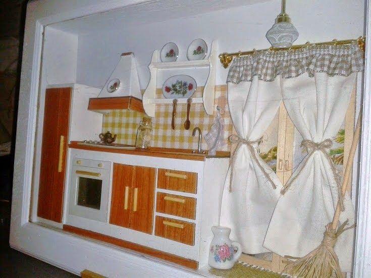 Fantasia della Realtà: Quadri con profondità: cucina II   Quadro ...