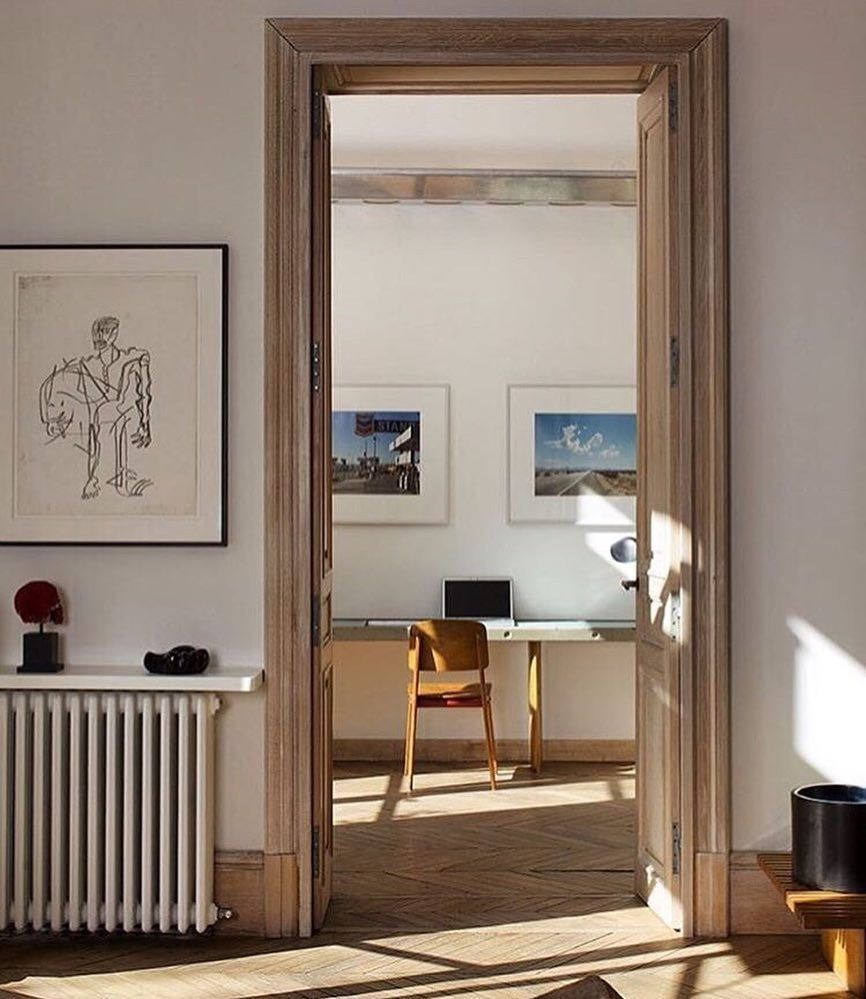 fredrik karlsson on instagram in the home of gallerist. Black Bedroom Furniture Sets. Home Design Ideas