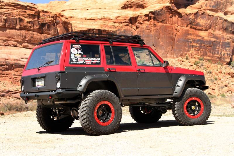 1996 Jeep Cherokee Xj Build Ferrarjeep Jeep Cherokee Xj Jeep