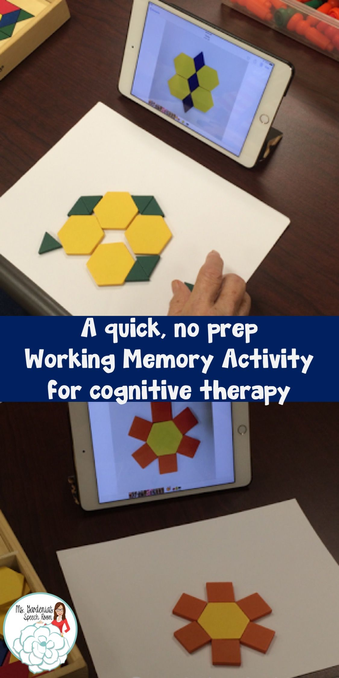 A Quick Fix For A Working Memory Activity
