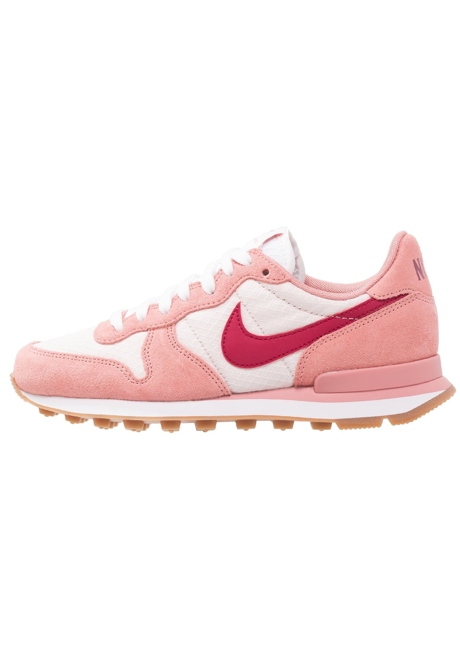 uk availability b52a6 29f99 ... shopping nike sportswear internationalist sneaker low red stardust  zalando.de 02dd4 12148