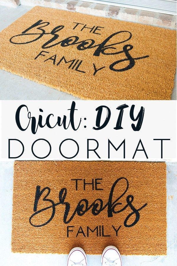 Cricut: DIY Doormat