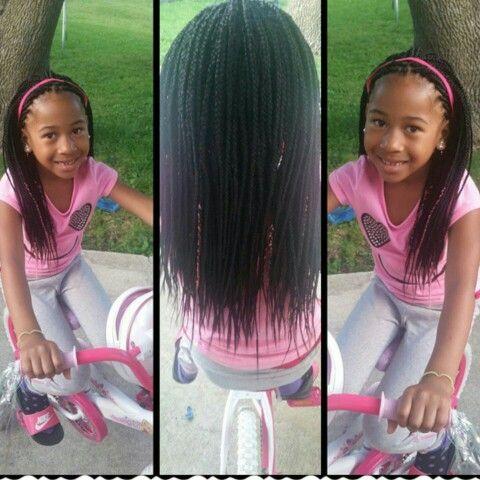 Box Braids For Kids Natural Hair Box Braids Little Girl
