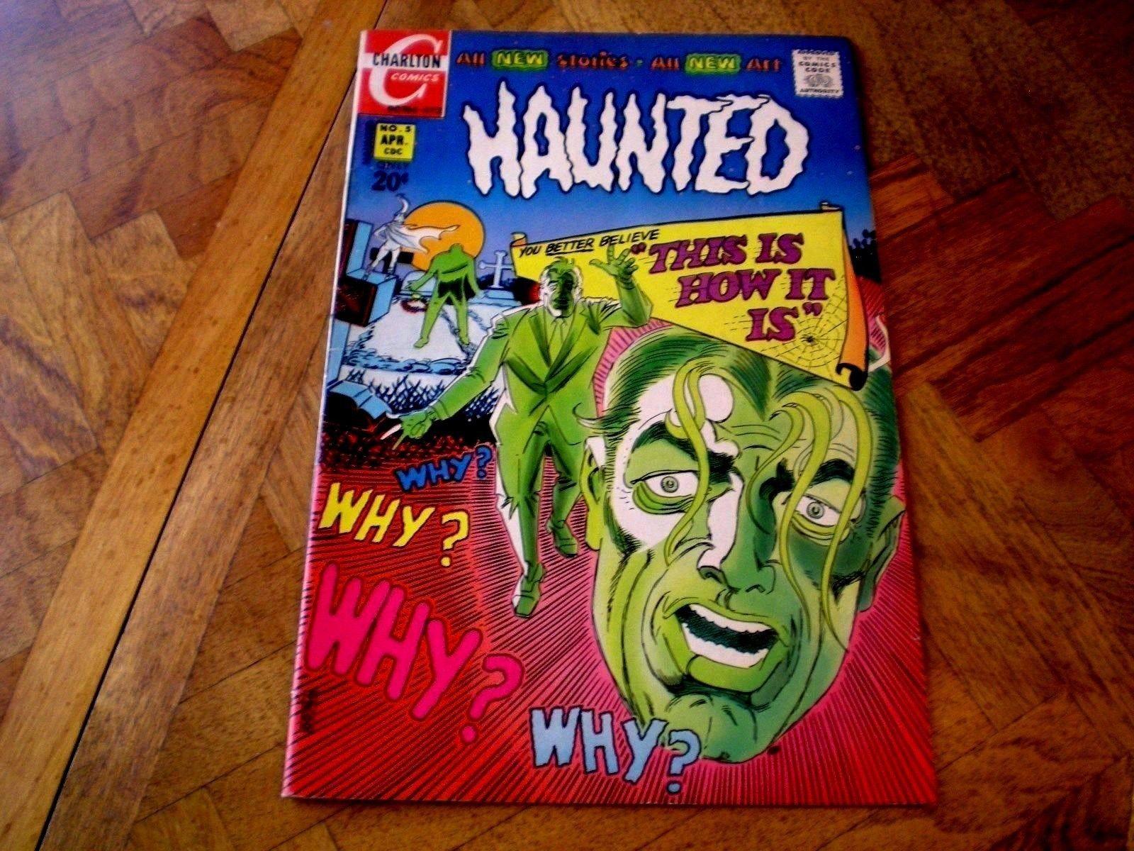 Haunted 5, 50, (1972/1980), Ditko Art, Charlton Comics GH1
