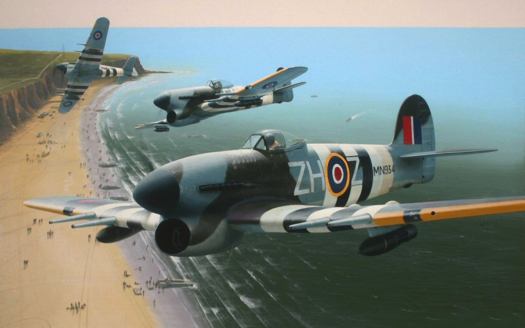 Typhoon vs Gestapo - RAF Pilot Rogue Attack 1943